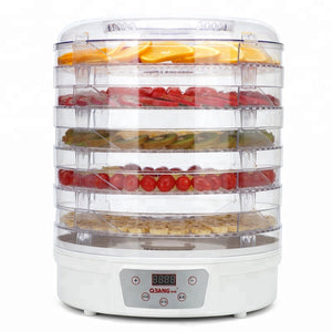 5 Layers Intelligent Plastic Material Food Dehydrator Fruit Dryer Drying Machine - FOB:US$ - MOQ: