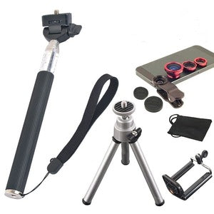 7 in1 Camera Lenses Kit Wide Angle Macro Lens Mobile Phone - FOB:US$6.60 - MOQ:100