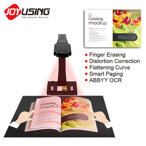 80 Ppm 180 Languages Support Ocr High Definition Book Scanner - FOB:US$ - MOQ: