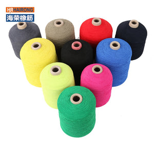 olored Latex Thread For Gloves Knitting - FOB:US$ - MOQ:
