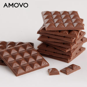 Amovo 35% Cocoa Mass Milk Tablet Chocolate Couverture Chocolate - Buy Milk Chocolate,Couverture Chocolate,Tablet Chocolate Product on Alibaba.com