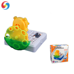 Amazing Bubble Science Bear Bubble Machine Toy Bubble Blower Toy Js2711698 - FOB:US$ - MOQ: