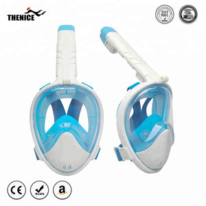 Anti Fog 180 Panoramic Folding Full Face Snorkel Mask For Gopro - FOB:US$ - MOQ: