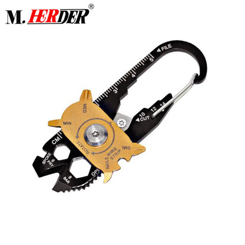 Hot Sale Compact Multifunctional Outdoors Tool Metal Survival Card - FOB:US$ - MOQ: