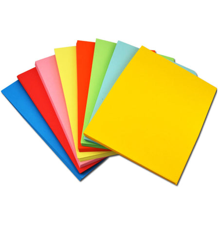 Assorted Colors 500 Sheets Per Pack A4 Color Paper - Buy Color Paper,A4 Size Color Paper,Printable Colored Paper Product on Alibaba.com