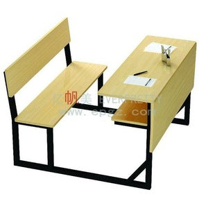 School Desk and Chair Wooden - FOB:US$77.00 - MOQ:50