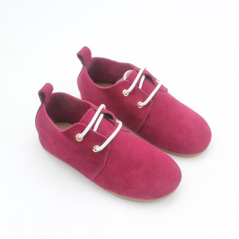 Leather Kids Shoes Girl Shoes - FOB: US$ - MOQ
