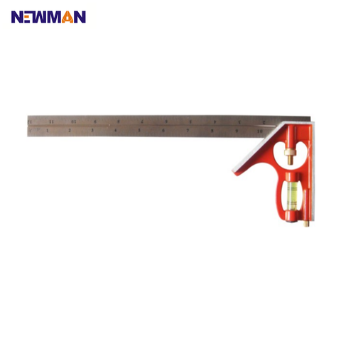 12 Inch Combination Square Angle Measuring Tool - FOB:US$6.60 - MOQ:500