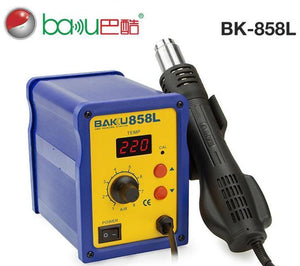 Baku Bk-858l High-quality 110v/220v Led Plastic Digital Smd Welding Hot Air Heat Gun - FOB:US$ - MOQ: