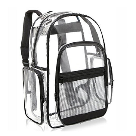 Clear Transparent Pvc Backpack - Casual