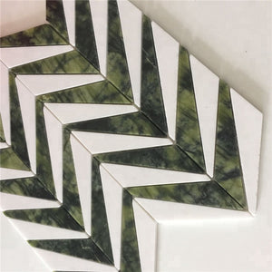 Bathroom Tiles Floor Glass Mosaics Wall For Kitchen Decoration - FOB:US$ - MOQ: