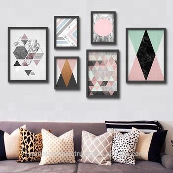 Beautiful Frame And Marble Wall Painting - FOB:US$ - MOQ: