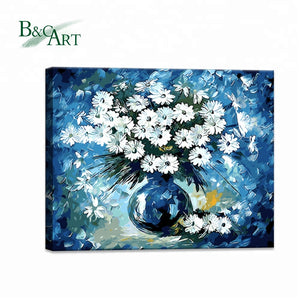 Flowers Picture Acrylic Paint Canvas - FOB:US$ - MOQ: