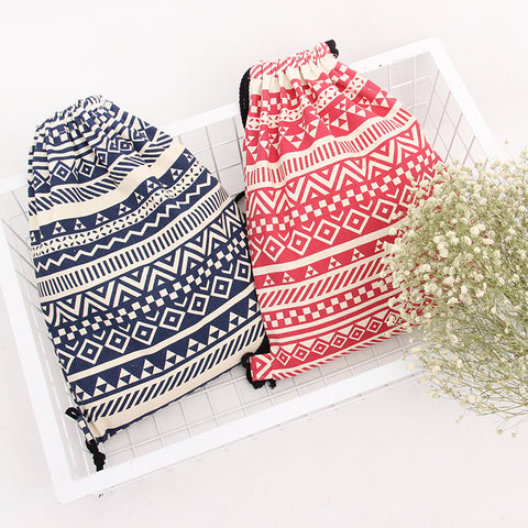 Beautiful Drawstring Shoulder Backpack - FOB: US$ - MOQ