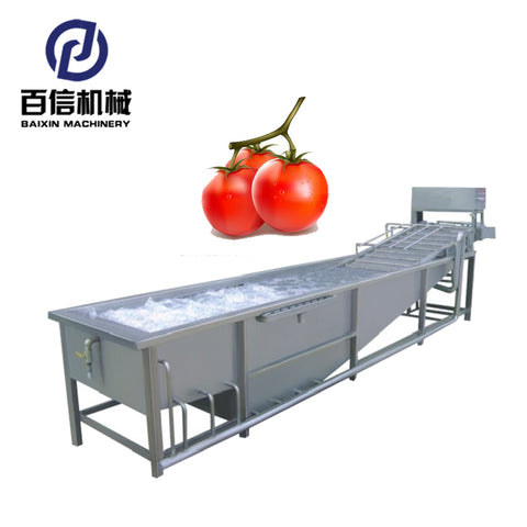 Stainless Steel Industrial Fruit Lettuce Washing Machine - FOB:US$ - MOQ: