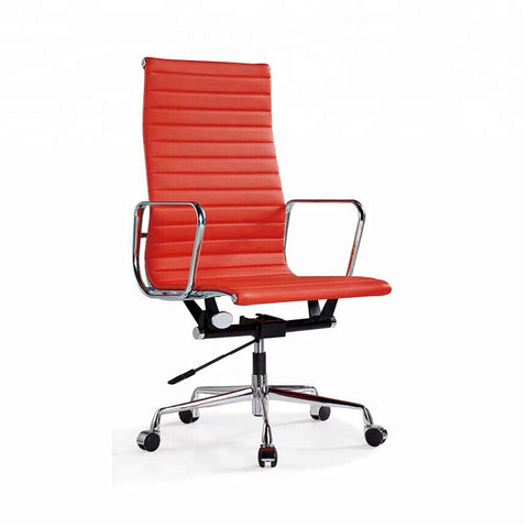 Black Tall Back Executive Leather Ergonomic Office Chair - FOB:US$ - MOQ:
