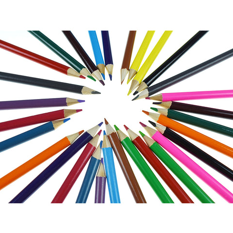 Bold And Bright Colored Pencil Set Of 30 Different Colour Club - FOB:US$ - MOQ: