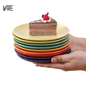 Brilliant Different Color Desert Cake Best Ceramic Plates - FOB:US$ - MOQ:
