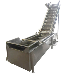 Cxj Fruit Washing Machine,Bubble Washing Machine,Bubble / Elevtate And Spray Cleanning Washing Machine - FOB:US$ - MOQ:
