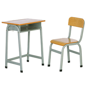 China No.1 School Furniture Supplier Single Desk And Chair Set Hy-0202b - FOB:US$ - MOQ: