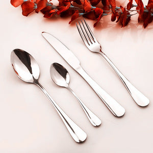 High Quality 4 Pieces Of Set Royal Polish Stainless Steel Cutlery Set Cutlery - FOB:US$ - MOQ: