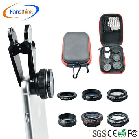 Clip-on Smart Cell Phone Lenses Universal 0.36x Wide Angle Lens,Kaleidoscope Lens,2x Telephoto Lens - Buy Cell Phone Lenses,Universal Phone Lens Telephoto Lens 4 In 1,Smart Phone Lens Product on Alibaba.com