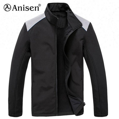 Clothing Manufacturer 100% Polyester Windbreaker Custom Fleece Hiking Men Jacket - FOB:US$ - MOQ: