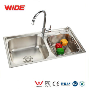 Commercial Kitchen Sink With Soap Dispenser From China Manufacturer - FOB:US$ - MOQ: