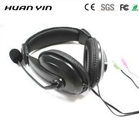 Computer Stereo Headset Headphone for Tablet Pc - FOB:US$2.20 - MOQ:1000