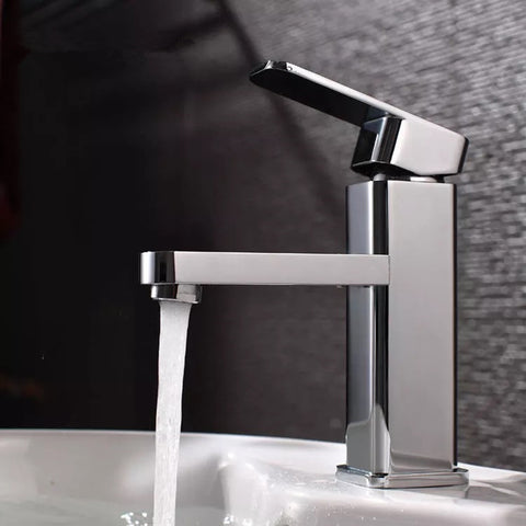 Contemporary Sanitary Ware Bathroom Taps Square Wash Basin Faucet - Buy Wash Basin Faucet,Square Basin Faucet,Black Basin Faucet Product on Alibaba.com