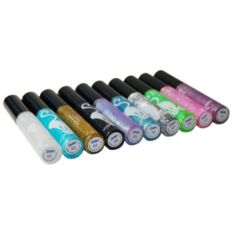 Long-lasting Cosmetic Shining Liquid Waterproof Glitter Eyeliner - FOB:US$1.50 - MOQ:1000