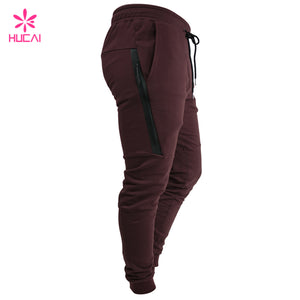 Custom Cotton Polyester Joggers - FOB:US$ - MOQ: