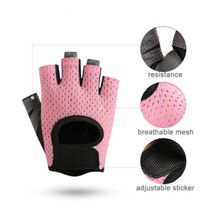 Custom Other Sports Half Finger Women Workout Fitness Gym Gloves - FOB:US$ - MOQ:
