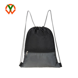 Custom Nylon Drawstring Backpack Bag - FOB: US$ - MOQ