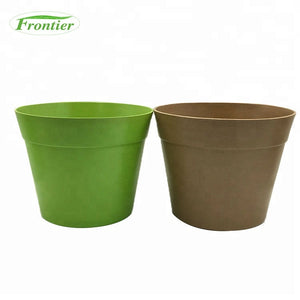 Customizable Cheap Biodegradable Big Outdoor Bamboo Flower Pot,Plant Pot - FOB:US$ - MOQ:
