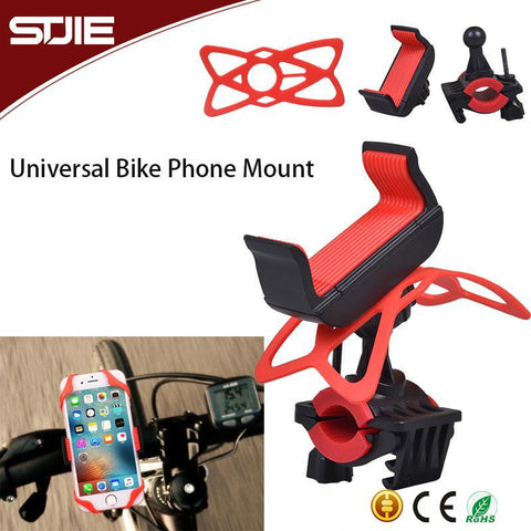 Customized Motocycle Bicycle Stand Bike Mount for Mobile Phones - FOB:US$ - MOQ: