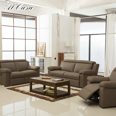Luxury Furniture L Shaped Corner Couch Sofa Set Modern Reclining Sofa - FOB:US$ - MOQ: