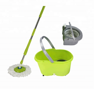 Daily Use Cleaning Tools, 360 Spinning Mop with Two Basket - FOB:US$11.55 - MOQ:592