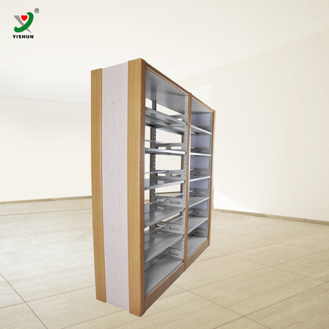 Double Column Bookshelf - FOB:US$ - MOQ: