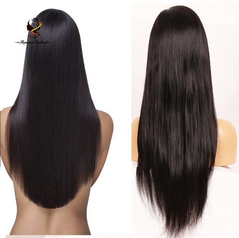 Dropshipping Straight India Hair Wig Cheap Price Full Lace Wigs - FOB:US$ - MOQ: