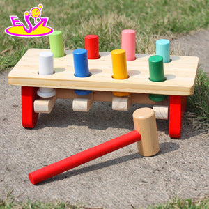 Eco-friendly Handmade Kids Early Learning Wooden Hammer Toy - FOB:US$6.60 - MOQ:500