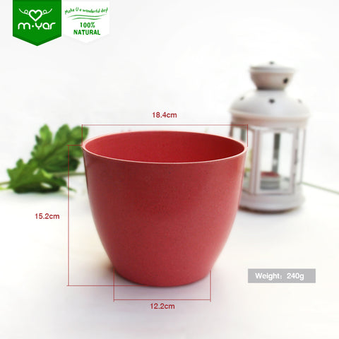 Eco-friendly High Quality New Design Colored Small Plant Pot - FOB:US$ - MOQ: