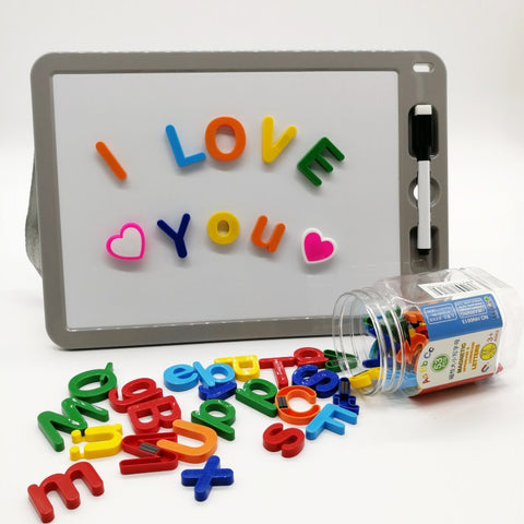 Educational Blocks Magnetic Alphabet Magnetic Letters Toy Blocks - FOB:US$ - MOQ: