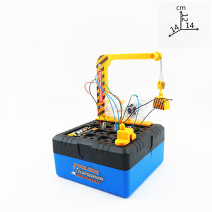 Electric Diy Building Blocks Plastic Model Science Educational Kid Toy - FOB:US$ - MOQ: