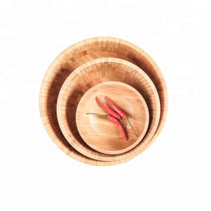 Environmental Protection Acaciaware Serving High Quality Wooden Salad Bowl - FOB:US$ - MOQ: