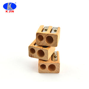 Factory Wholesale Promotional Wooden Pencil Sharpener - FOB:US$ - MOQ: