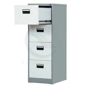 Factory Customize Specific Used Office 4 Drawer Metal File Cabinet - FOB:US$ - MOQ: