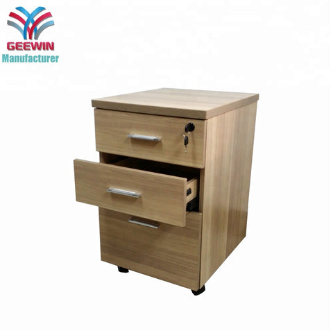 Factory Wholesale Functional Movable Office Wooden Storage Cabinet - FOB:US$ - MOQ: