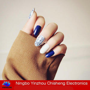 Fashion Artificial Natural Color False Acrylic Nail Tips - FOB:US$ - MOQ: