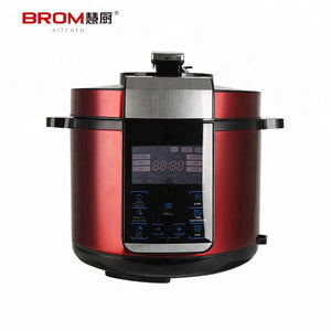 Fashionable Simple Design High Power Majestic Big Pressure Cooker - FOB:US$ - MOQ:
